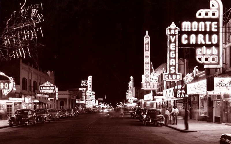 image of las vegas on 1941
