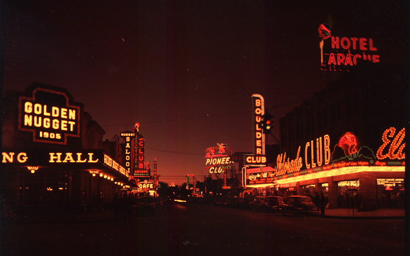image of las vegas on 1966