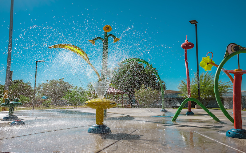 image for Splash Pads Now Open
