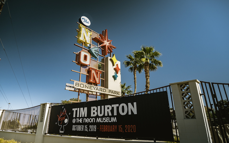 image for Lost Vegas: Tim Burton @ The Neon Museum