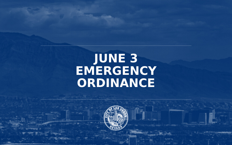 image for June 3 Emergency Ordinance