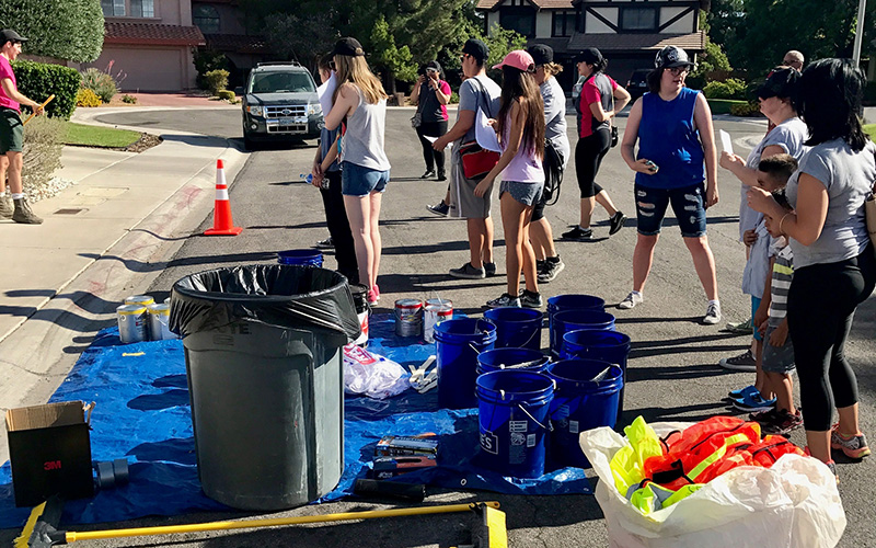 Centennial Hills Park Cleanup