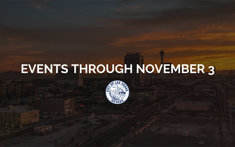 image for Events Through November 3