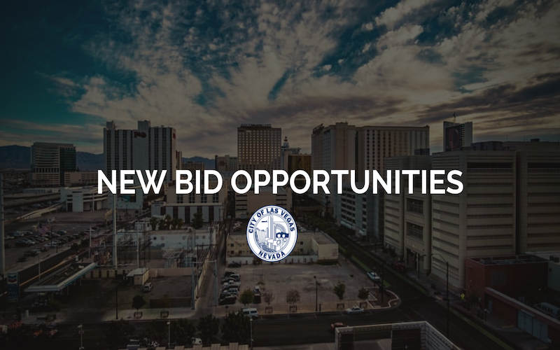 image for New Bid Opportunities