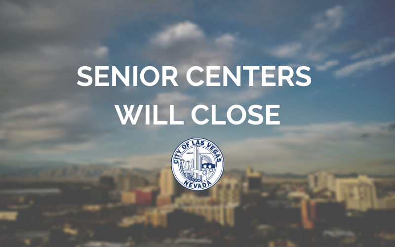 image for Senior Centers Will Close Starting March 14