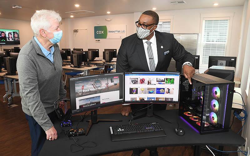 Cox Innovation Lab Opens