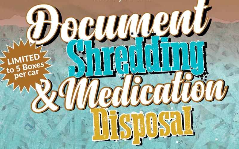 Ward 2 Document Shredding & Medication Disposal Event