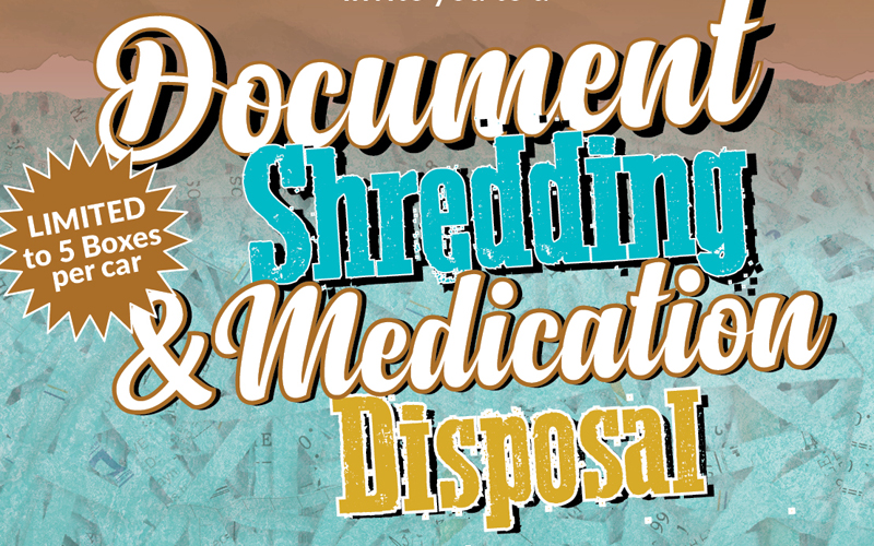 Ward 2 Free Document Shredding & Prescription Drug Turn-in