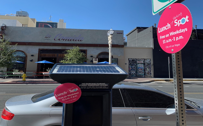 image for Free Lunch Spot Parking In Downtown Las Vegas