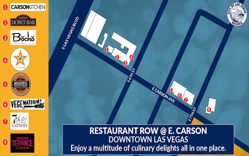 image for Restaurant Row @ Carson Ave.