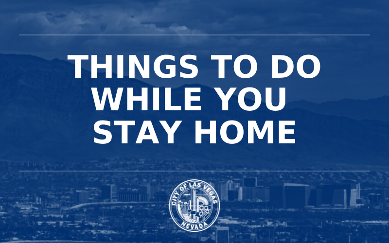 image for Things to Do While You Stay Home