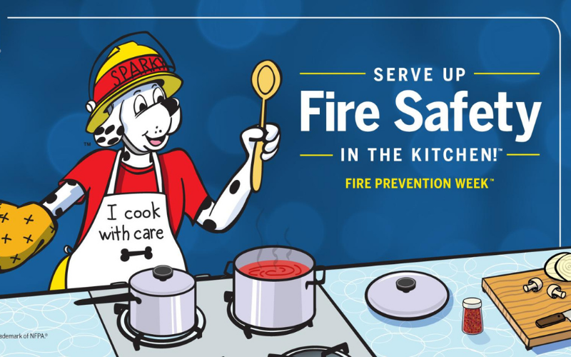 image for Fire Prevention Week Oct. 4-10
