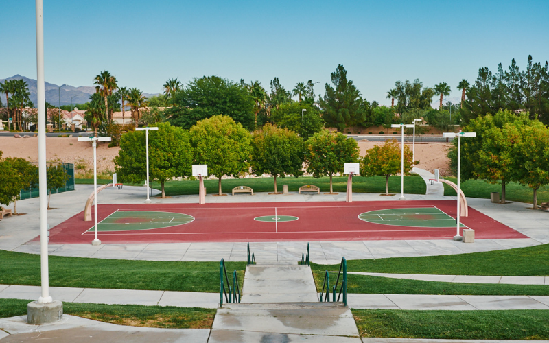 image for Basketball Courts At City Parks