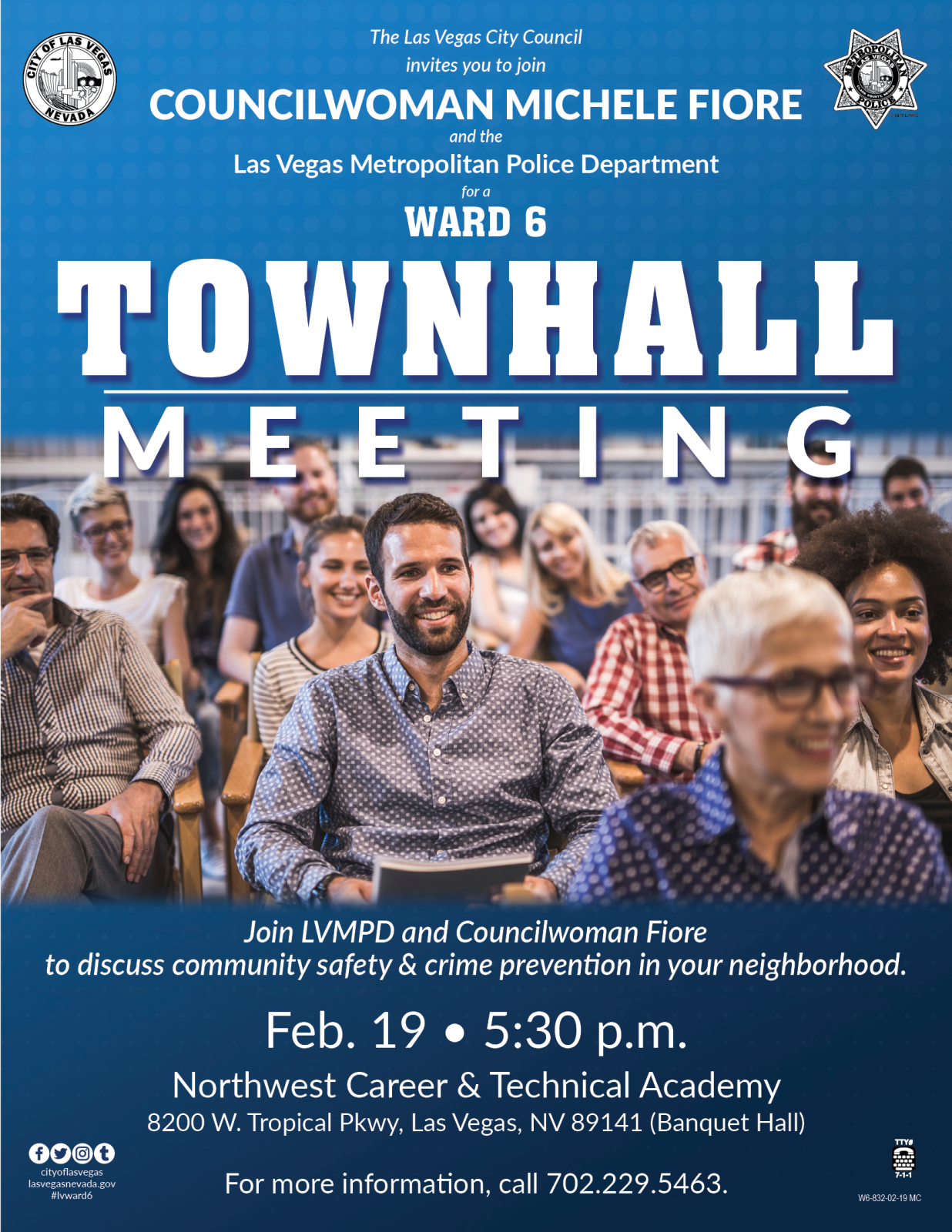 Ward 6 Police Town hall flier Feb-19-2019.png