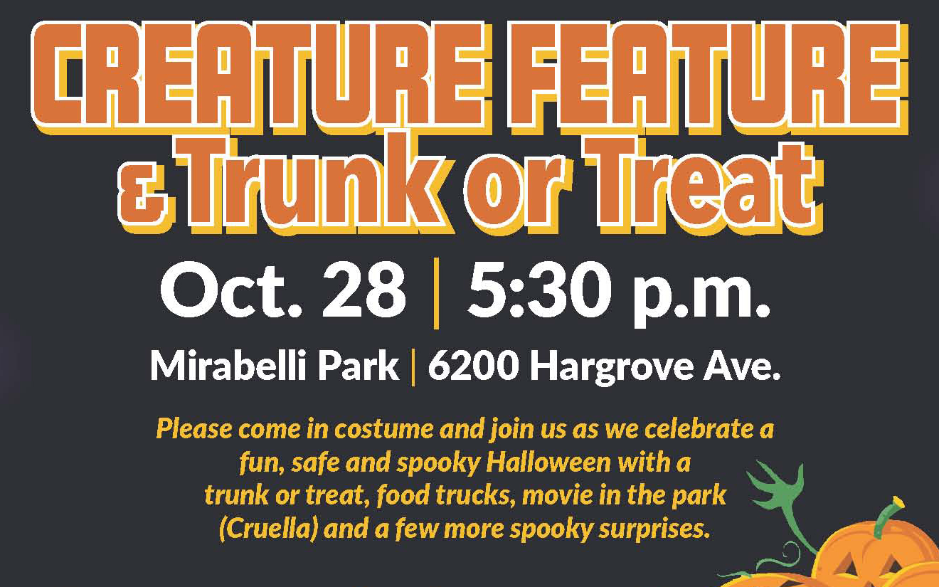 Ward 1 Creature Feature & Trunk-or-Treat