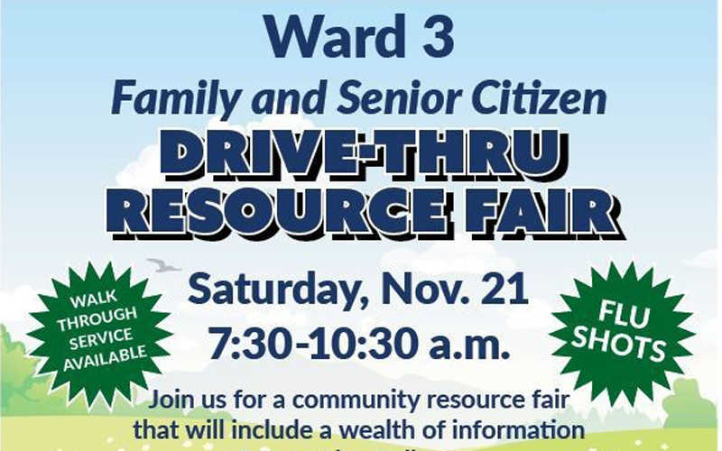 Ward 3 Family & Senior Citizen Drive-Thru Resource Fair