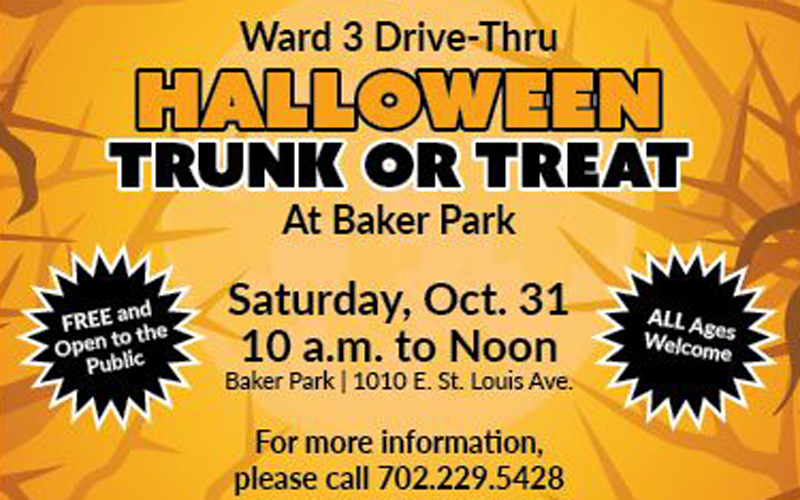 Ward 3 Drive-Thru Halloween Trunk-or-Treat