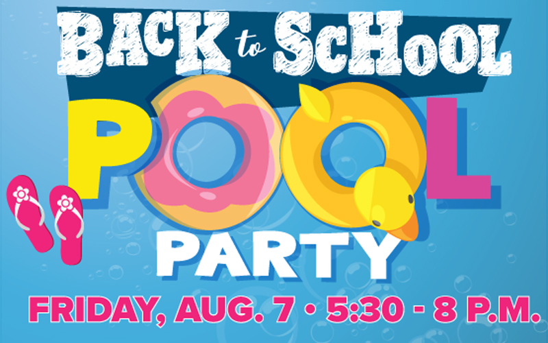 Ward 4 Back-to-School Pool Party