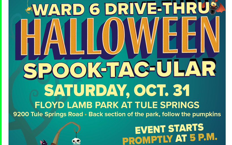 Ward 6 Drive-thru Halloween Spooktacular!