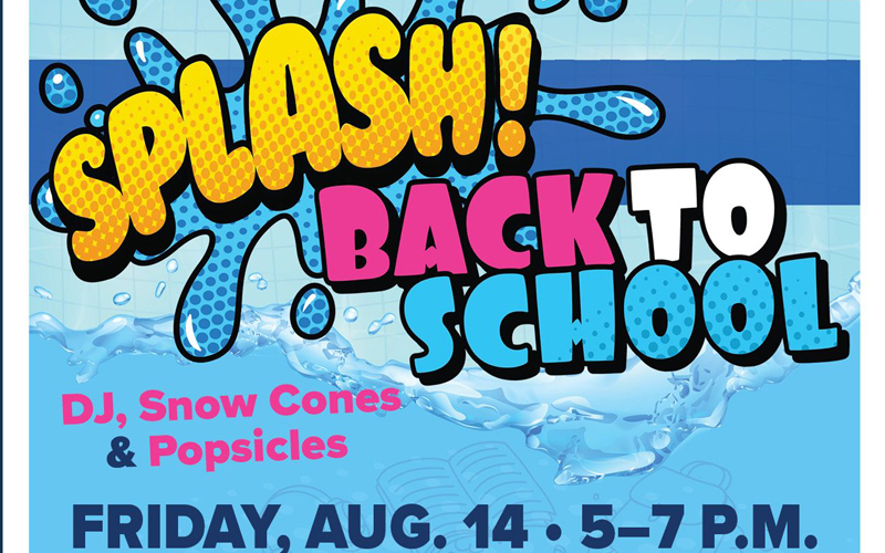 Ward 6 Splash Back to School