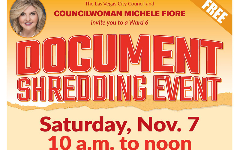 Ward 6 Document Shredding Event