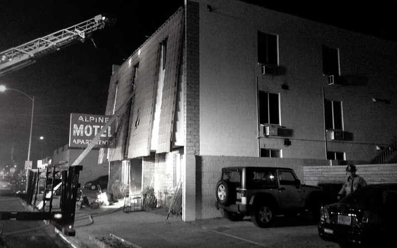 image for Helping Victims Of Alpine Motel Fire