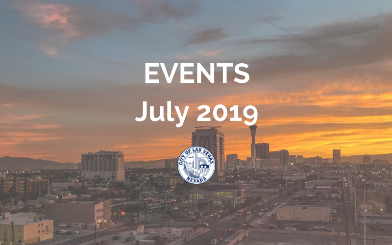 image for July 2019 Events