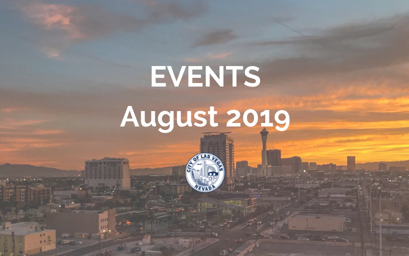 image for August 2019 Events