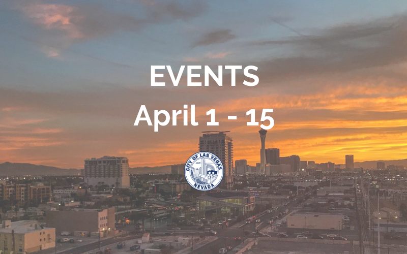 image for April 1 - 15 Events
