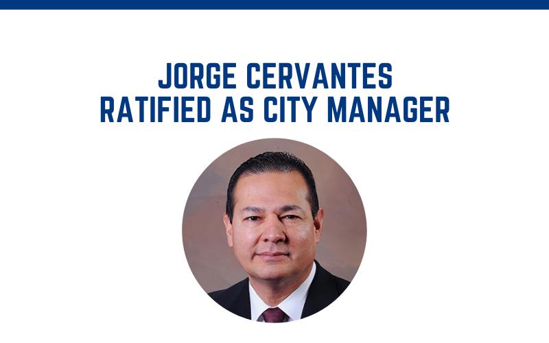 image for Jorge Cervantes Ratified As Next Las Vegas City Manager