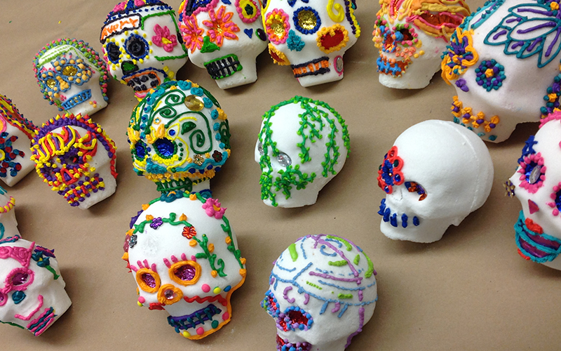 Sugar Skulls Art Making Workshop