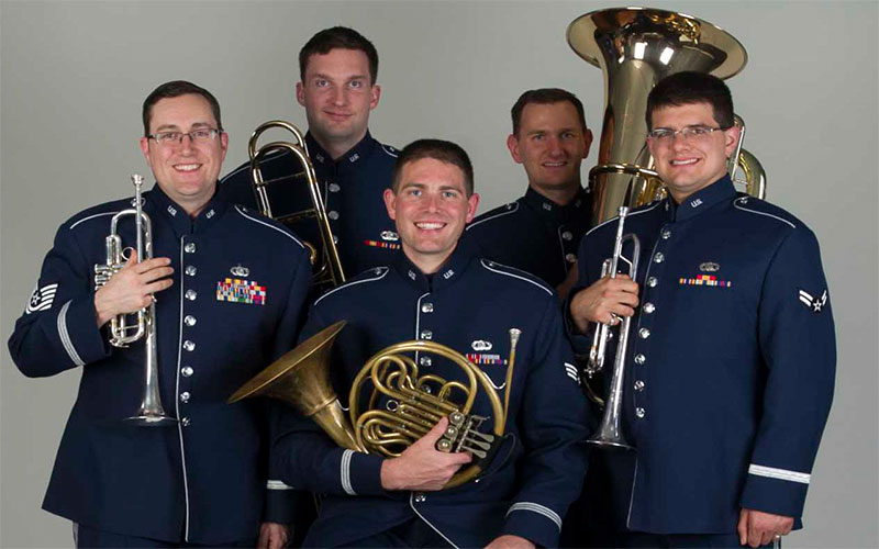 image for U.S. Air Force Band of the Golden West: Travis Brass event